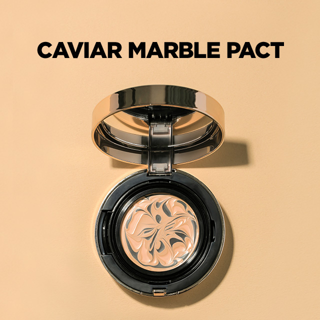 VELY VELY Caviar Marble Pact