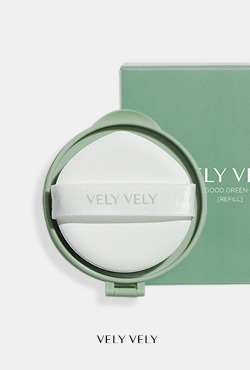 VELY VELY Dermagood Green Cushion [Refill]