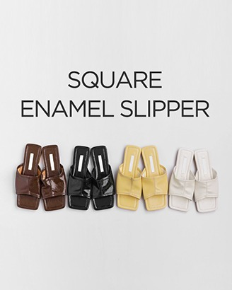 Square Toe Synthetic Leather Sandals